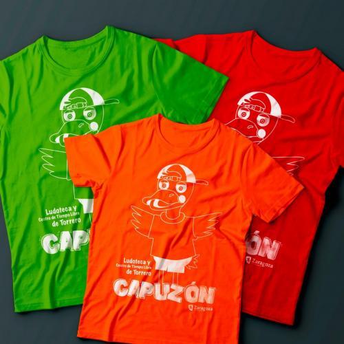 Camisetas para Ludoteca y CTL Capuzón