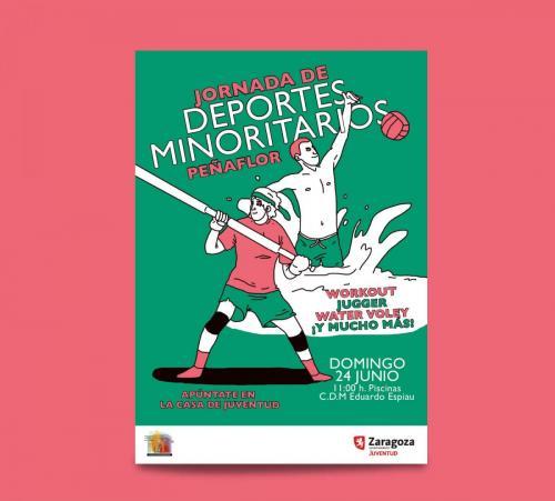 Cartel Deportes Minoritarios Peñaflor
