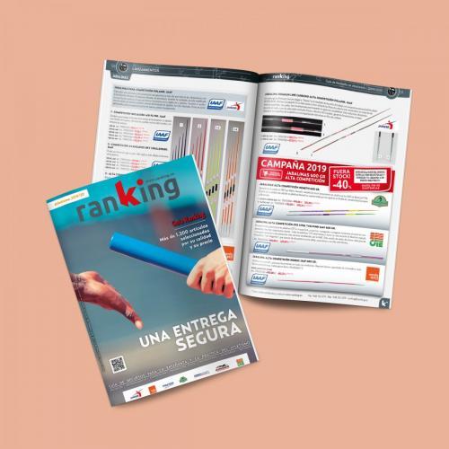 Diseño y maquetación de la Guía de recursos de Atletismo de Ranking 2019